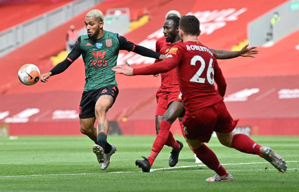 Aston Villa fans react to Douglas Luiz display vs ...