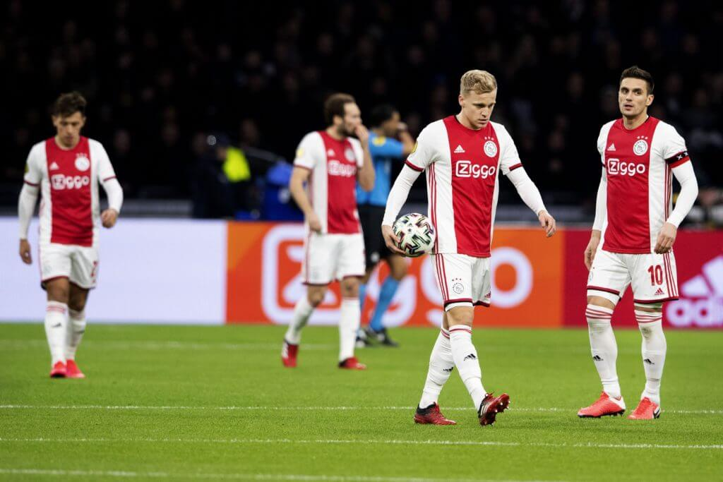 Ajax waiting for Manchester United's Van de Beek bid