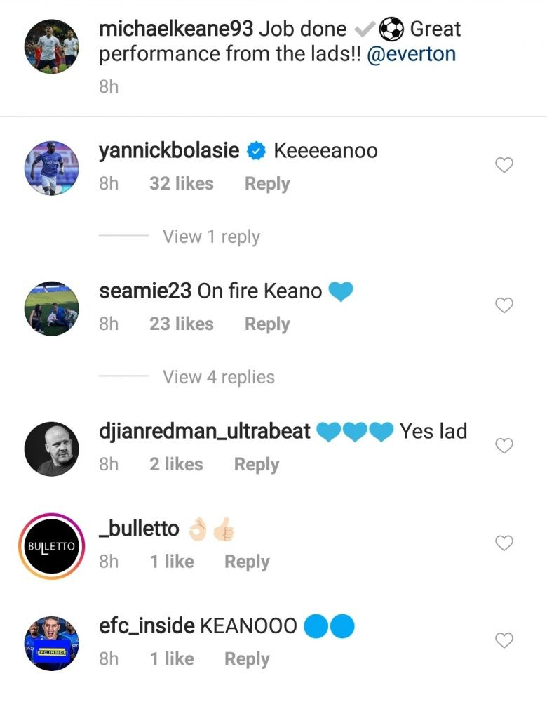 82f82727 08bc 4967 bea5 05c92fc28358 - Yannick Bolasie's one-word reaction to Everton star's latest Instagram post