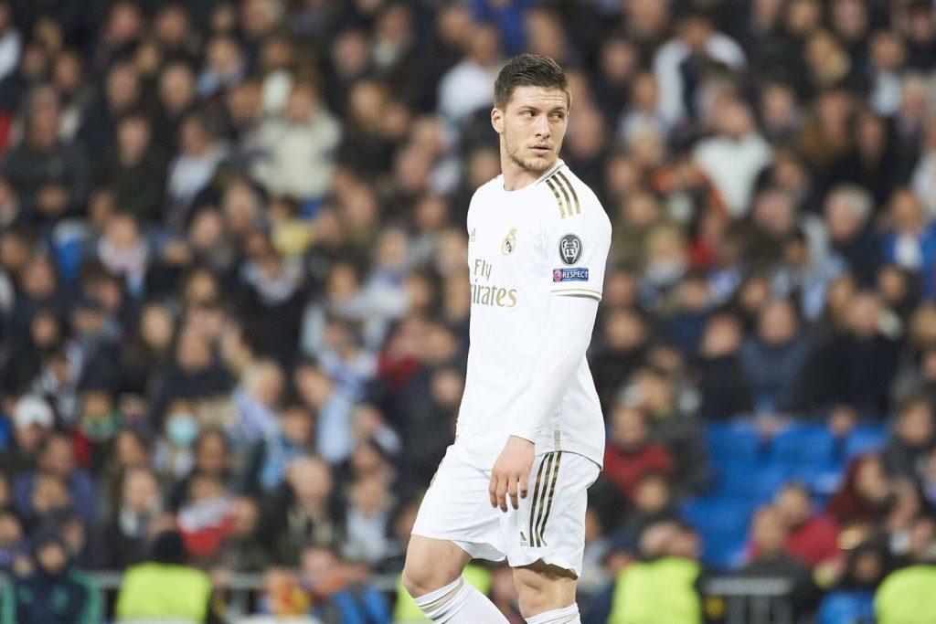 Real Madrid Sends Luka Jovic Back To Frankfurt On Loan