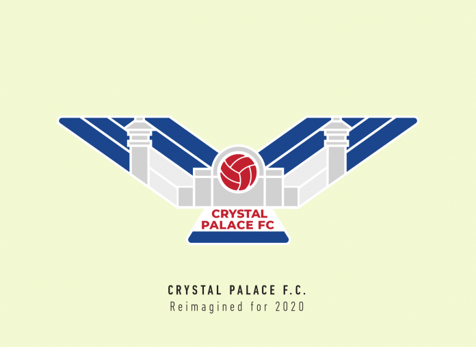 Crystal Palace And Their Crest History Along With A 2020 Redesign Sportslens Com