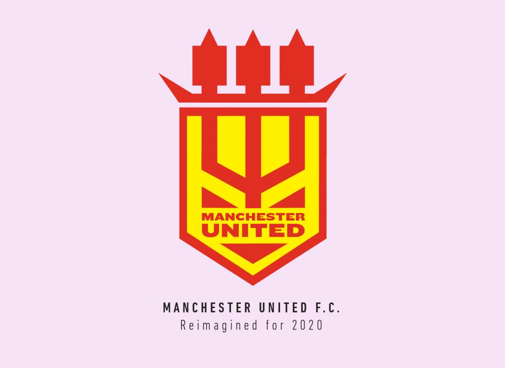 manchester united s crest and how we reimagined it sportslens com sportslens com