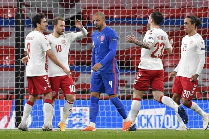 england denmark 141020t - England's UEFA Nations League Review: Really, Really Underwhelming