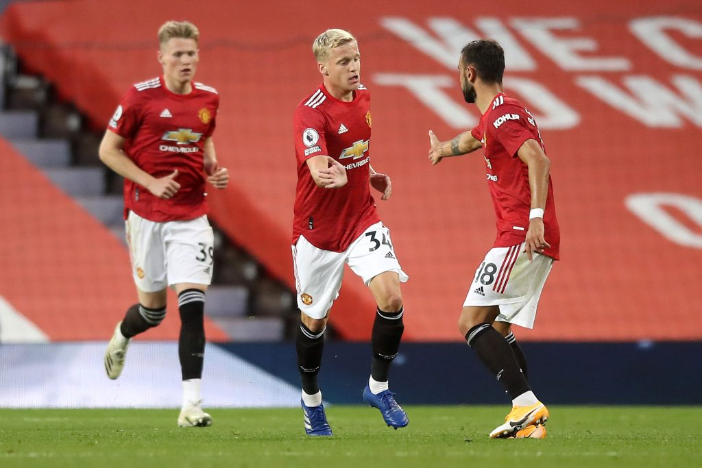 What Donny van de Beek thinks of the Man Utd attack