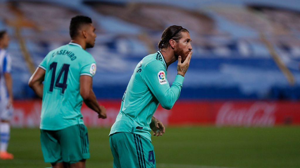 Paris Saint-Germain want Sergio Ramos of Real Madrid