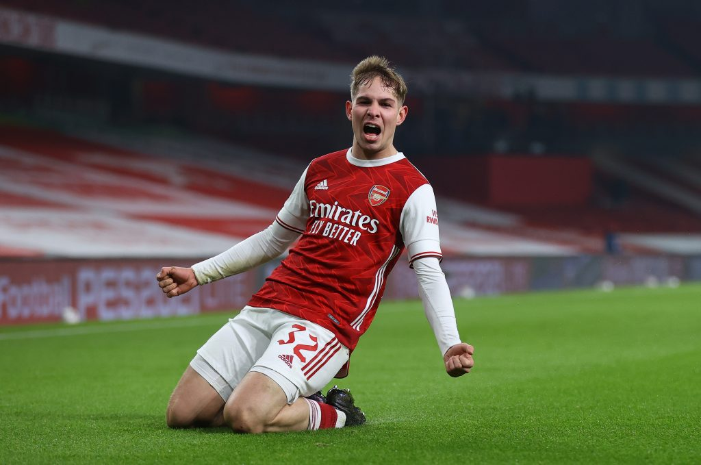 Smith Rowe and Ceballos start, Predicted Arsenal line-up (4-2-3-1) vs Benfica