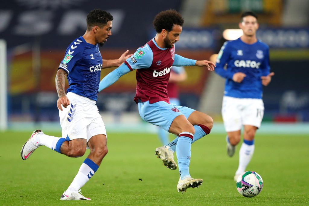 everton v west ham united carabao cup fourth round 1024x683 - AC Milan aiming to bring Felipe Anderson back to Serie A