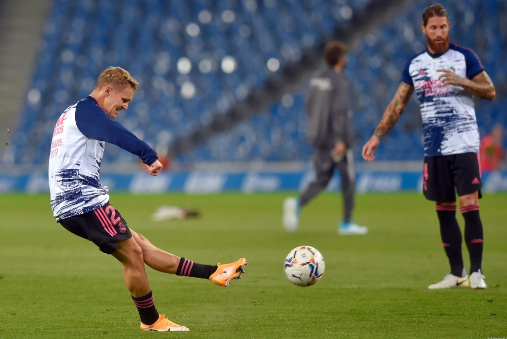 Arsenal agree £1.8m loan transfer for Martin Odegaard