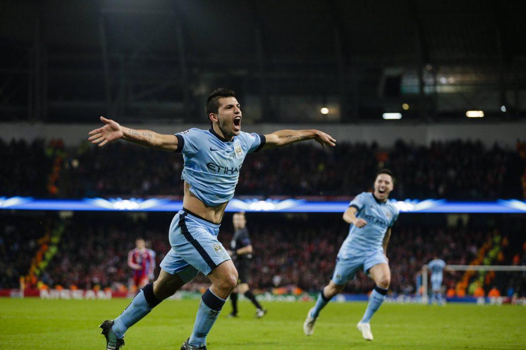 Les meilleurs moments de Sergio Aguero à Manchester City - Champions League