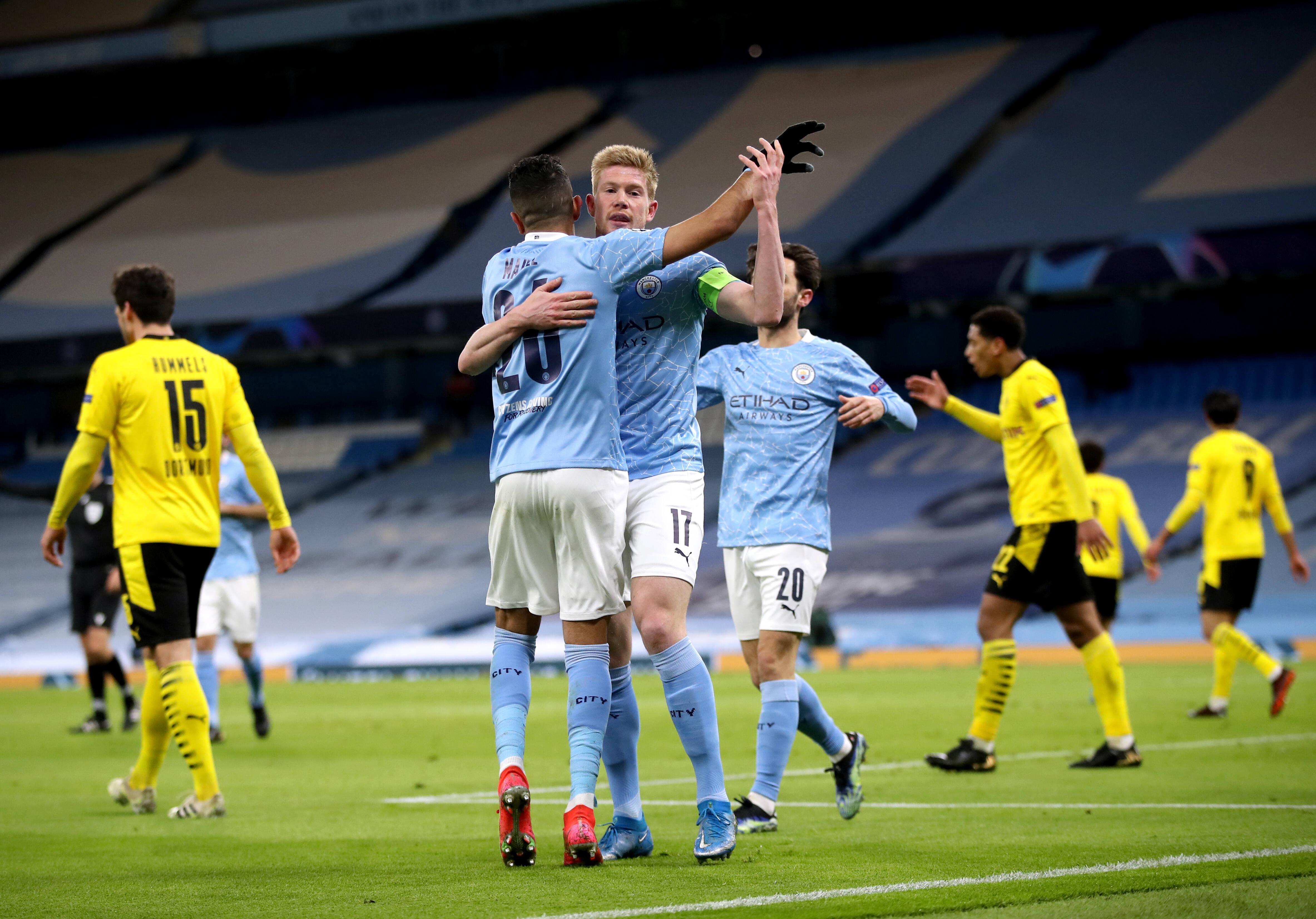 Le vainqueur de dernière minute de Phil Foden dément le Borussia Dortmund à Manchester - Champions League