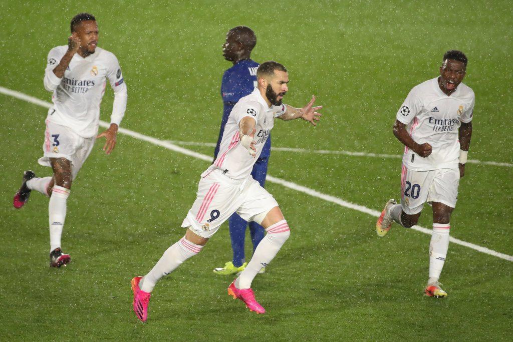 La volée de Benzema annule l'ouverture de Pulisic en demi-finale de la Ligue des champions - Ligue des Champions