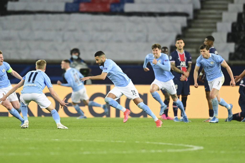 Man City vient de l'arrière pour battre le PSG en demi-finale aller de la Ligue des champions - Champions League