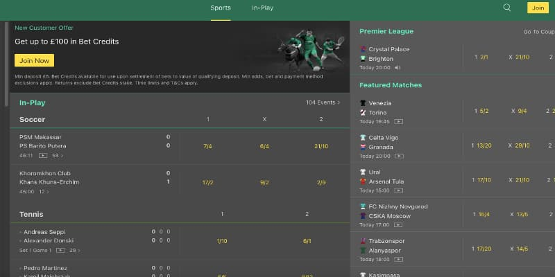 Bet365 step one sign up