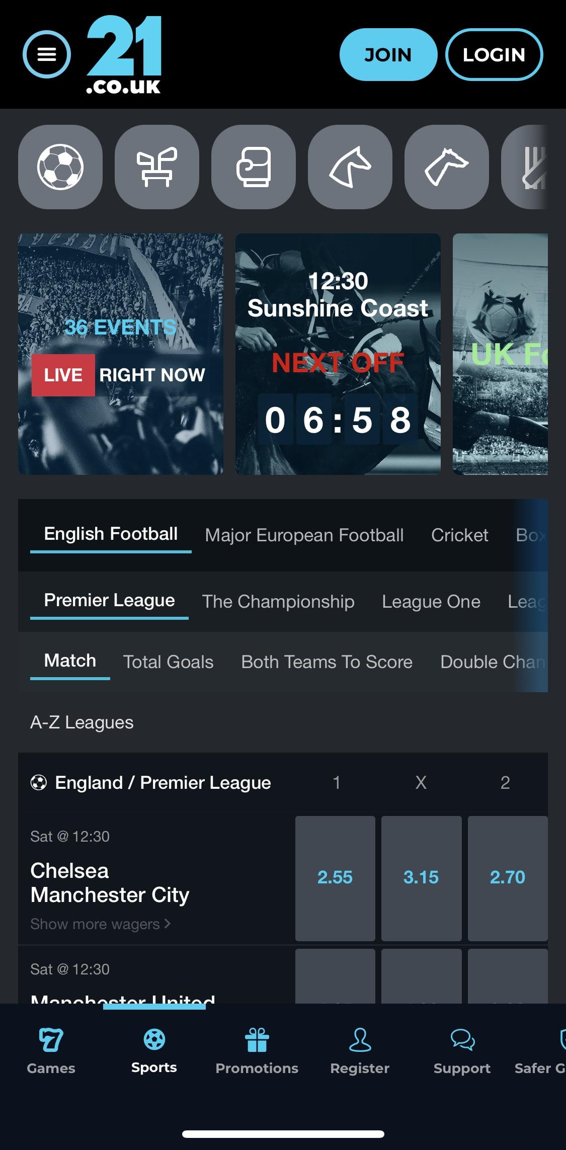 21co.uk app
