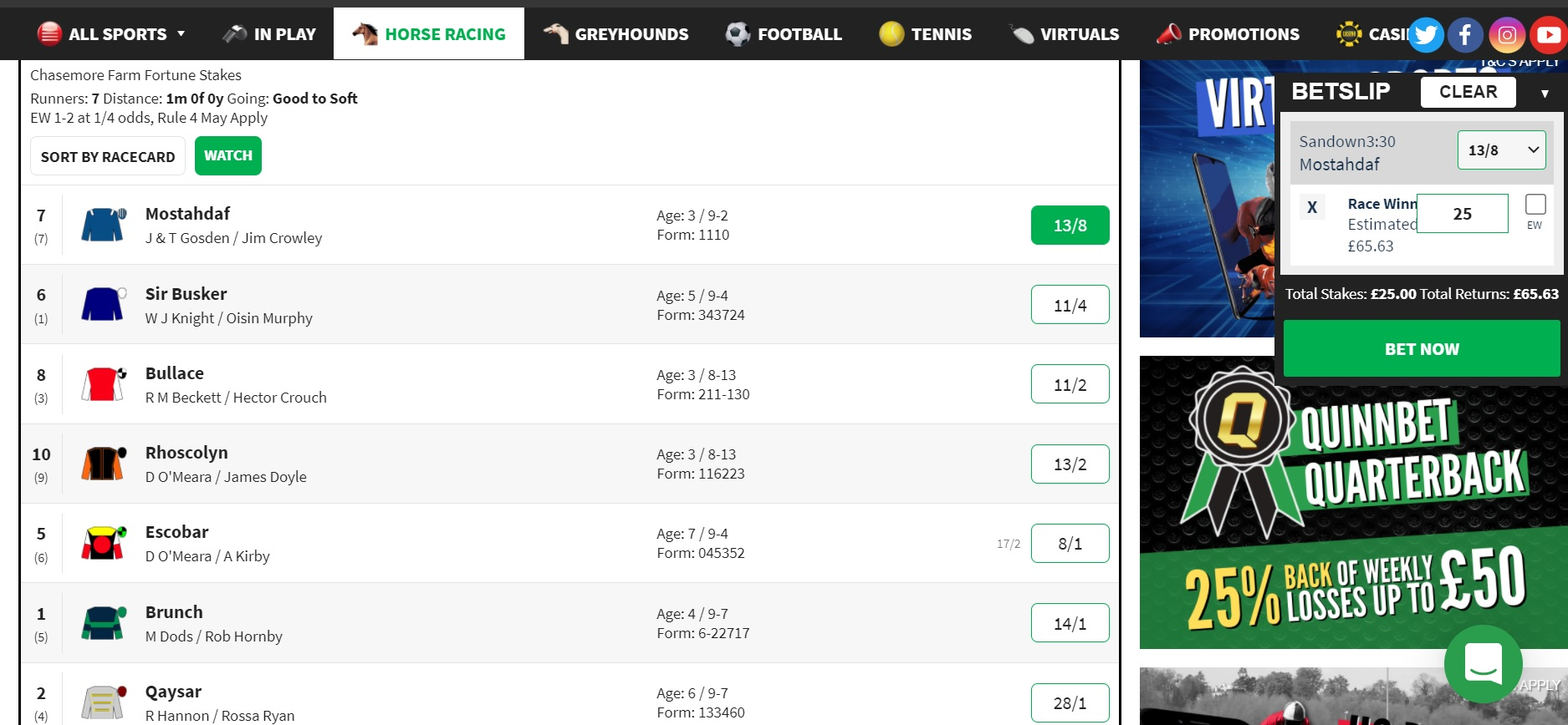 NAP of the day 15 September