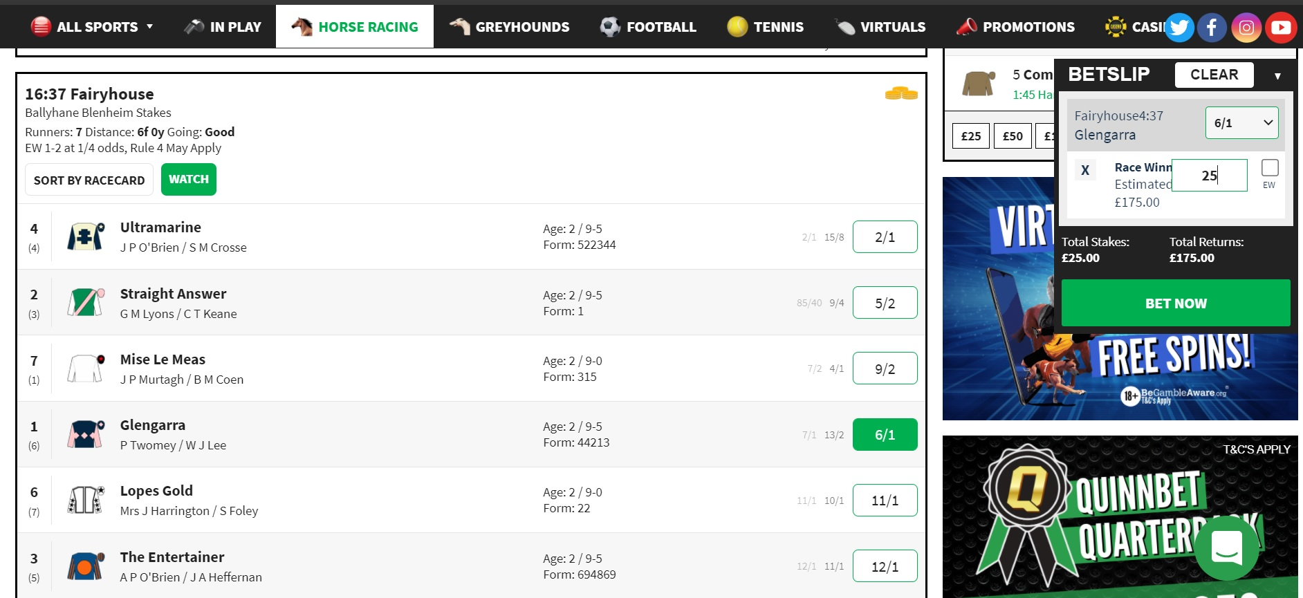 NAP of the Day for 20 September