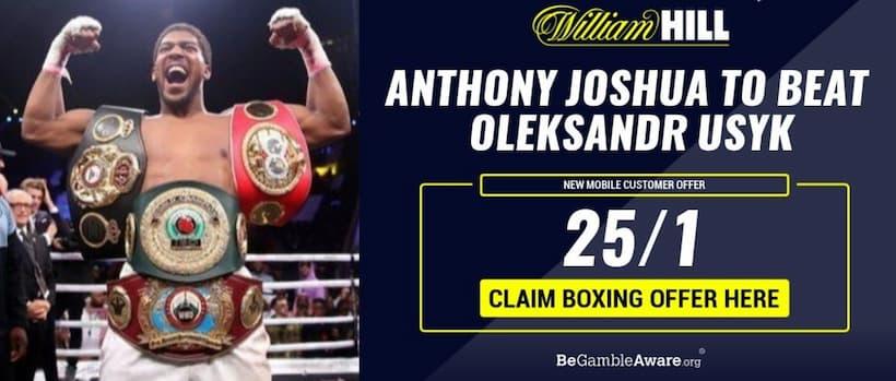 Joshua vs Usyk Consejos de apuestas: obtenga probabilidades mejoradas de 25/1 en una victoria de Joshua