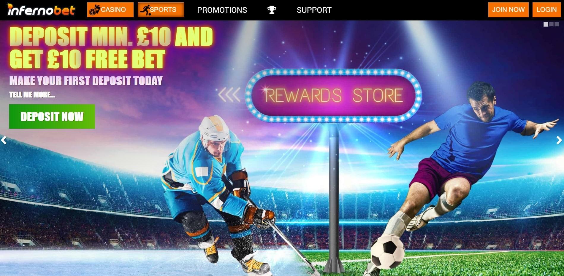 InfernoBet new betting sites